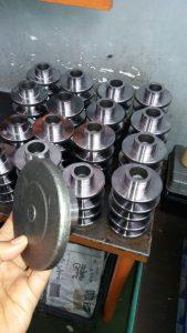 hasil produksi mesin bubut cnc